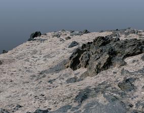 Rocky Terrain 3D asset realtime