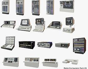 3D model Retro Computers Pack 05
