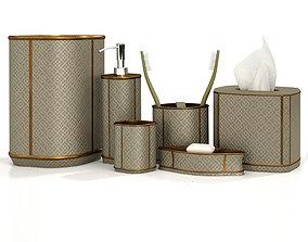 accessories 3D Bathroom decorative set