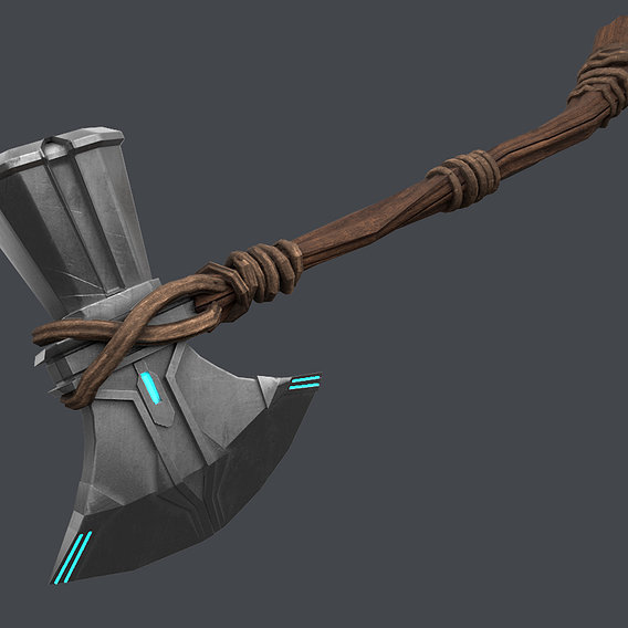thor storm breaker ,game ready asset