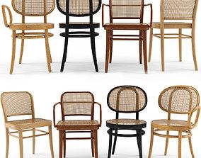 4 Chair FRONT Josef Hoffamnn 3D model