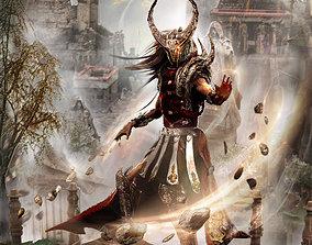Warrior Athens Model 3D