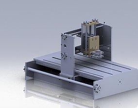 part 3D model Cnc machine