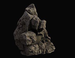 mountain temple 3D model