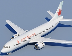 3D 737 400 Air Canada With Interior