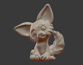 3D print model Little fox