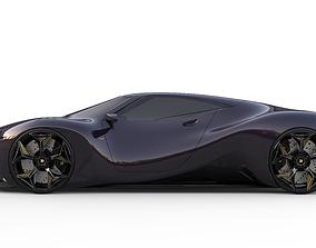 Bugatti Audra Concept 3D model