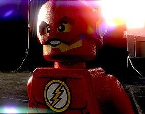 3D asset LEGO Flash - Low Poly