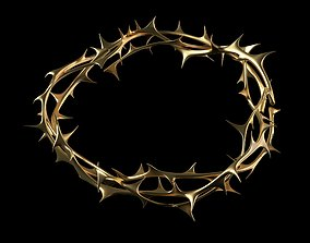3D model Crown of thorns