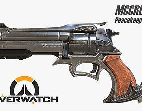 3D model Overwatch Mccree s Peacekeeper