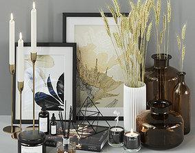 Decorative Set vase 3D