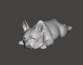 French Bulldog Cute Sleeping 2 3D printable model