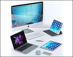 3D Apple Collection 01