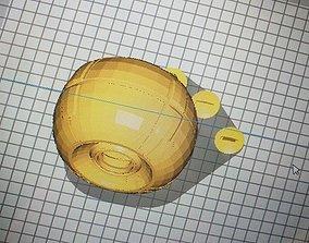 3D print model Destiny Iris Pulsator Exotic Shell