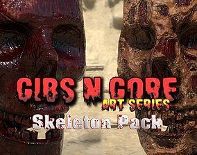 Gibs N Gore - Skeleton Pack 3D model