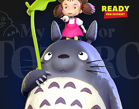 My Neighbor Totoro Fanart 3D print model