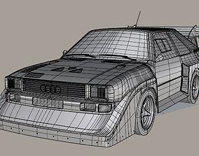 3D model Audi S1 Quattro group B