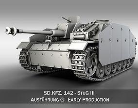 StuG III - Ausfuerung G - Early Production 3D model