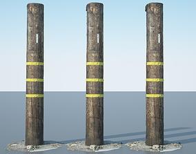3D Utility Pole