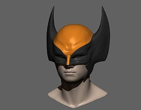 Wolverine Mask - Helmet For Cosplay from 3D print model