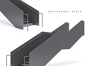 sculpture-stair-02 3D model