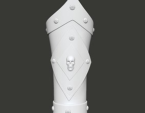 Skull Pirate Bracers 3D print model
