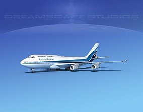 Boeing 747-400 Aerolineas Argentinas 3D model