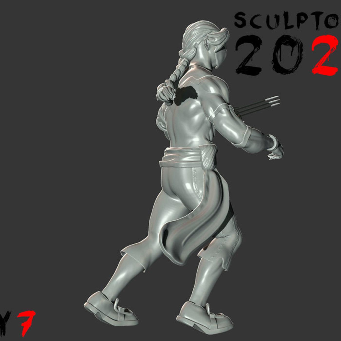 Sculptober Day 07 Vega