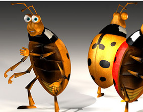 Ladybug cartoon 3D