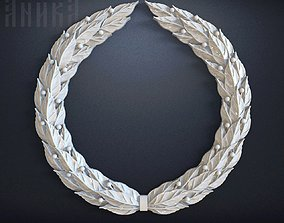 Laurel wreath 3D printable model