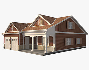 Traditional House 11 3D model low-poly