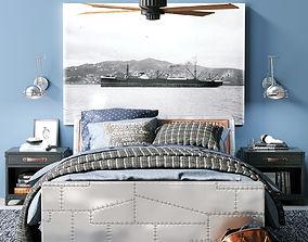 3D model AVIATOR STORAGE BED bed