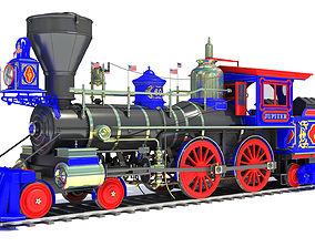 Jupiter Steam Locomotive 3D