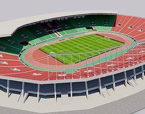 Prince Moulay Abdellah Stadium - Morocco 3D asset
