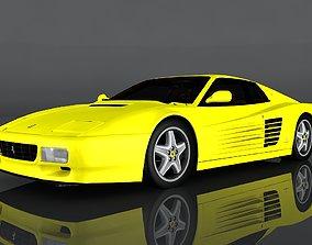 1991 Ferrari 512 TR 3D asset