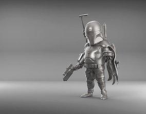 Boba Fat 3D print model