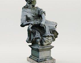 Baroque garden sculpture - Austria - 3D printable model 1
