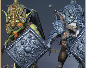 3D model Goblin Gladiator Light Version