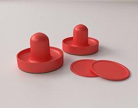 Air Hockey Paddle 3D model