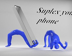 3D print model cellphone holder