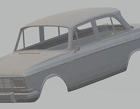 MOSKVICH 1500 Printable Body Car