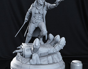 Gambit from X-men 3D print model