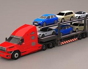 3D asset game-ready Truck