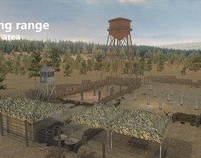 Shooting Range - Restricted Area 3D asset
