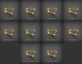 Rings of wisdom 3D