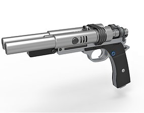 Blaster Pistol S-195 from the movie Solo A Star Wars 3D