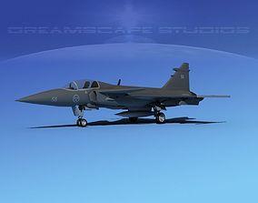 3D model SAAB JAS 39 Gripen V09