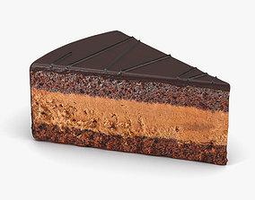 Chocolate Cake chocolate 3D
