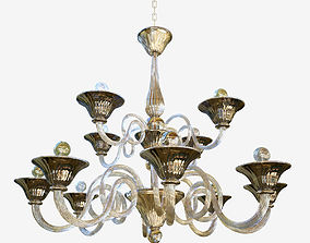 chandelier Sylcom Dolfin 1382 8 4 3D model