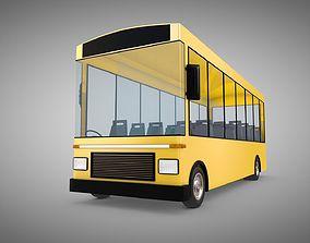 3D model realtime Bus school